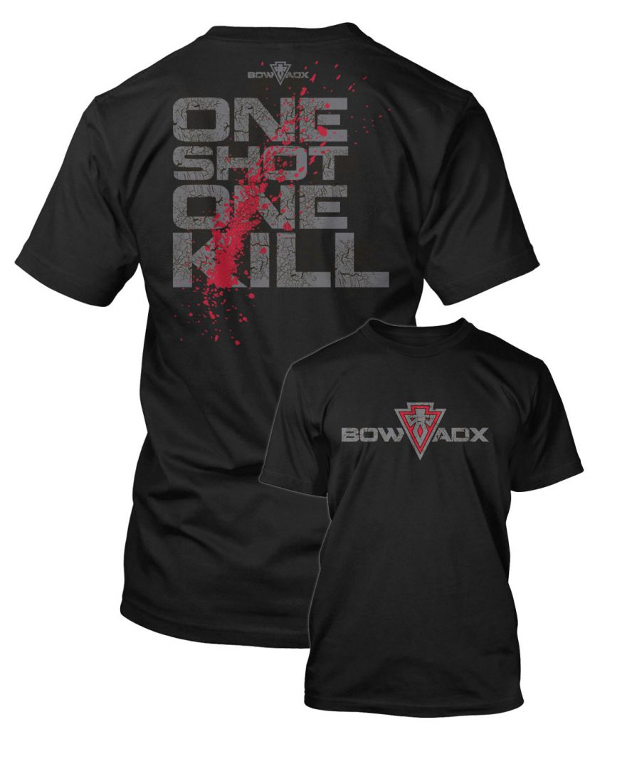 One Shot One Kill Bow Hunting T Shirt Bow Hunting T