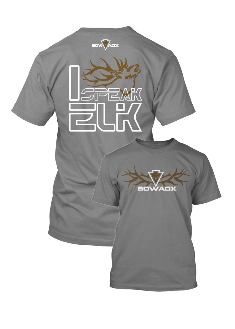 I Speak Elk Bow Hunting T Shirt Bow Hunting T Shirts