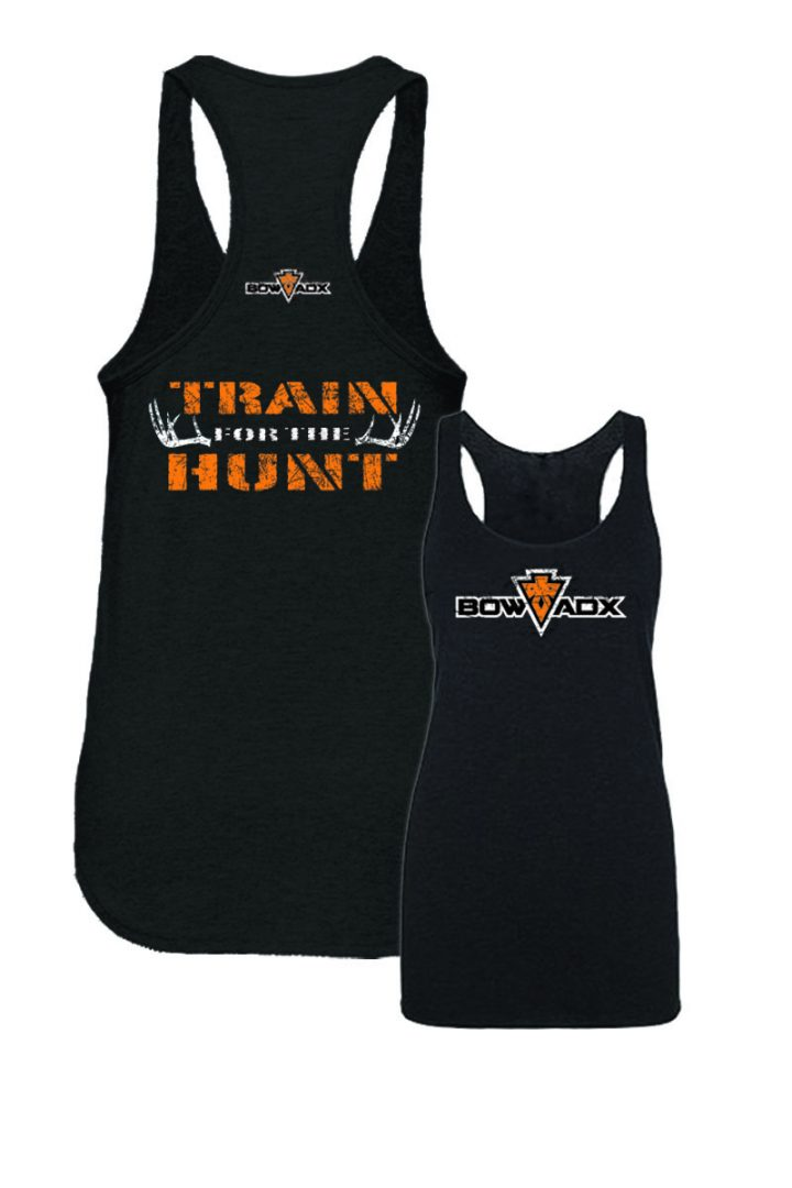 Ladies Train For The Hunt Bow Hunting Tank Top Bow