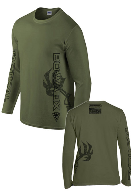 Tactical Long Sleeve Bow Hunting T Shirt Bow Hunting T